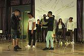 Aufführung der Theatergruppe